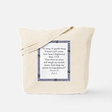 O Sleep O Gentle Sleep Tote Bag