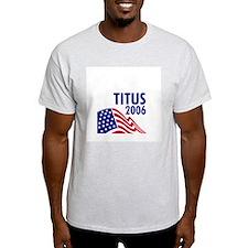 Titus 06 Ash Grey T-Shirt