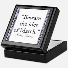 Beware the Ides of March Keepsake Box