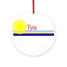 Tyra Ornament (Round)