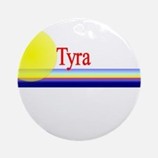 Tyra Ornament (Round)
