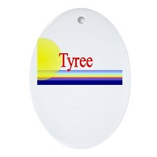 Tyree Oval Ornament