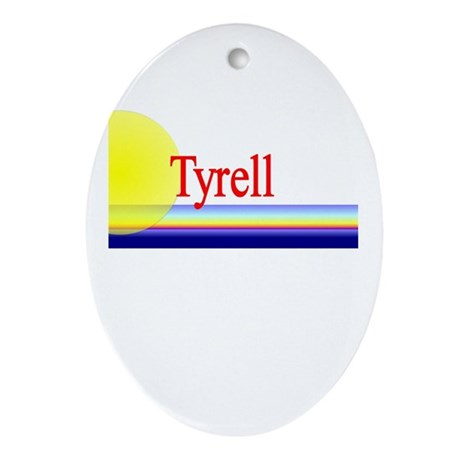 Tyrell Oval Ornament