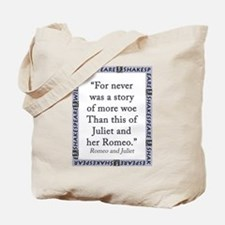 For Never Was a Story Tote Bag