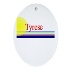 Tyrese Oval Ornament