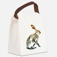 Industrial Hare Canvas Lunch Bag