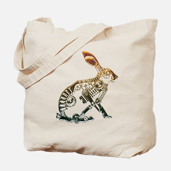 Industrial Hare Tote Bag