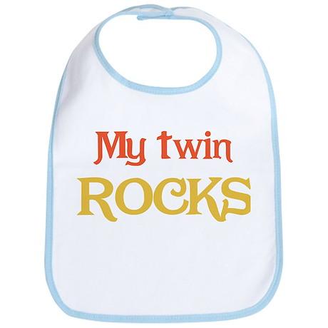 My Twin Rocks 1 Bib