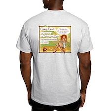 Sandy Beach Ash Grey T-Shirt