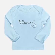 Fish on! Long Sleeve Infant T-Shirt