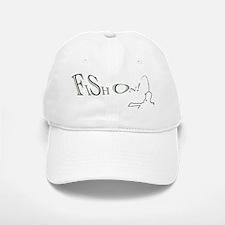 Fish on! Make this the lucky fishing design Baseball Baseball Cap