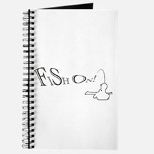 Fish on! Make this the lucky fishing design Journa