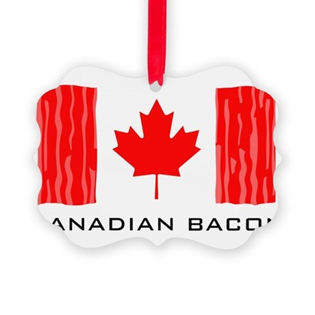 CANADIAN BACON Picture Ornament