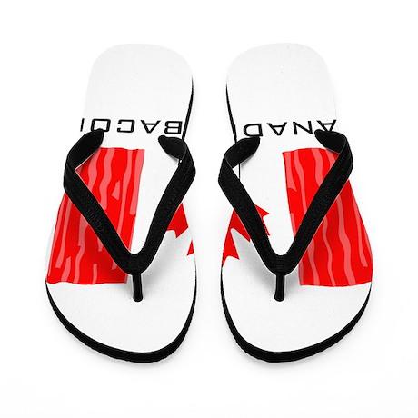 CANADIAN BACON Flip Flops