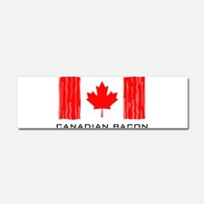 CANADIAN BACON Car Magnet 10 x 3