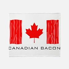 CANADIAN BACON Throw Blanket