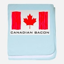 CANADIAN BACON baby blanket