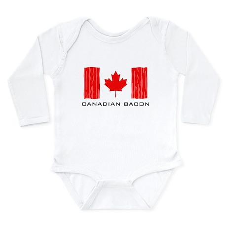 CANADIAN BACON Long Sleeve Infant Bodysuit