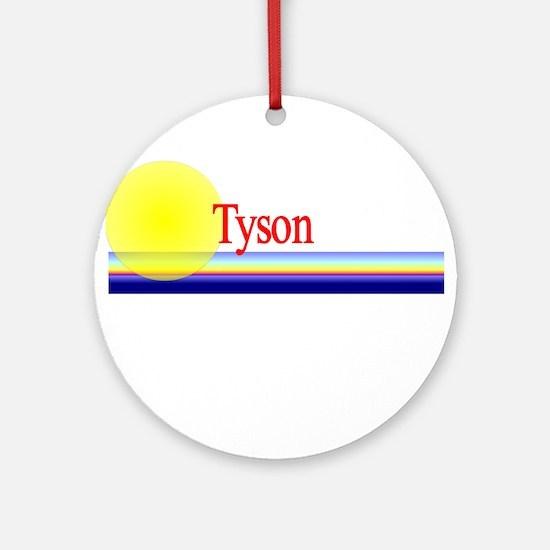 Tyson Ornament (Round)