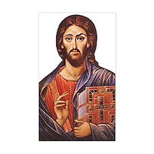 Jesus Rectangle Decal