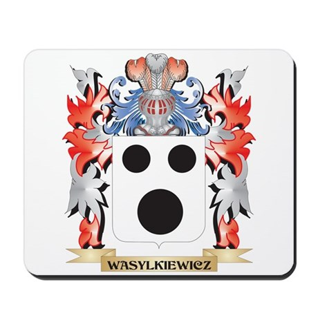 Wasylkiewicz Coat of Arms - Family Crest Mousepad