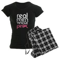Real men wear pink. Pajamas