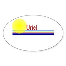 Uriel Oval Decal