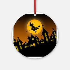 Spooky Halloween 2 Ornament (Round)