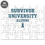 Teal Survivor University Puzzle