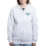 Teal Survivor University Women's Zip Hoodie