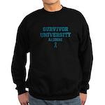 Teal Survivor University Sweatshirt (dark)
