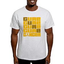 CURE Appendix Cancer Collage T-Shirt
