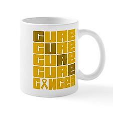 CURE Appendix Cancer Collage Mug
