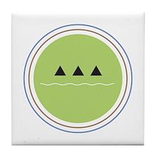 ecology logo Tile Coaster