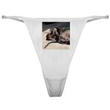 otters5.png Classic Thong