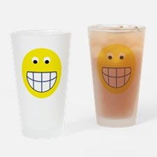 Big Grin Smiley Drinking Glass