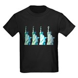 Statue of liberty Kids T-shirts (Dark)
