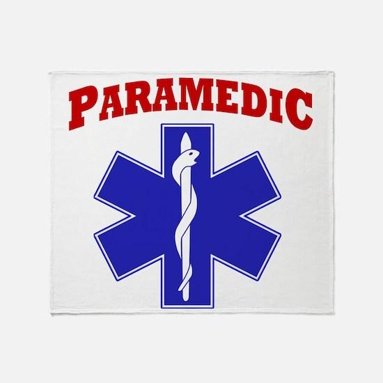 Paramedic Throw Blanket
