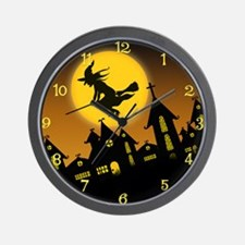 Spooky Halloween 2 Wall Clock