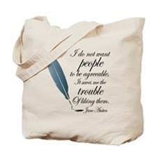 Austen Agreeable People Tote Bag