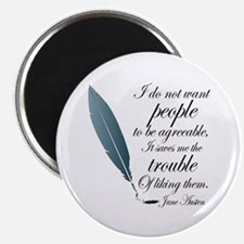 Austen Agreeable People Magnet