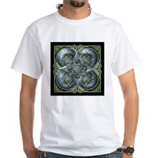 Silver & Green Celtic Tapestry Shirt