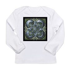 Silver & Green Celtic Tapestry Long Sleeve Infant