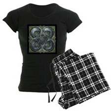 Silver & Green Celtic Tapestry Pajamas