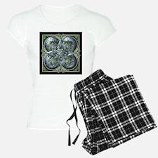 Silver & Green Celtic Tapestry Pajamas