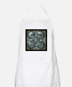 Silver & Green Celtic Tapestry Apron