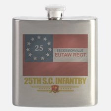 25th SC Infantry (flag 10).png Flask