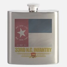 33rd NC Infantry (Flag 10).png Flask