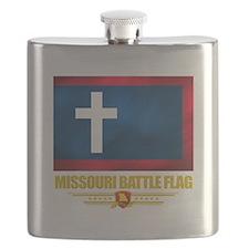 Missouri Battle Flag (flag 10).png Flask