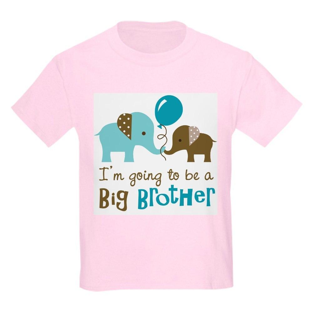 CafePress Big Brother To Be Elephant T Shirt Kids Light T-Shirt 708853385